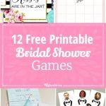 12 Free Printable Bridal Shower Games – Tip Junkie   How Many Kisses Game Free Printable