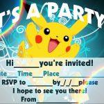 12 Superb Pokemon Birthday Invitations | Kittybabylove   Free Printable Pokemon Birthday Invitations
