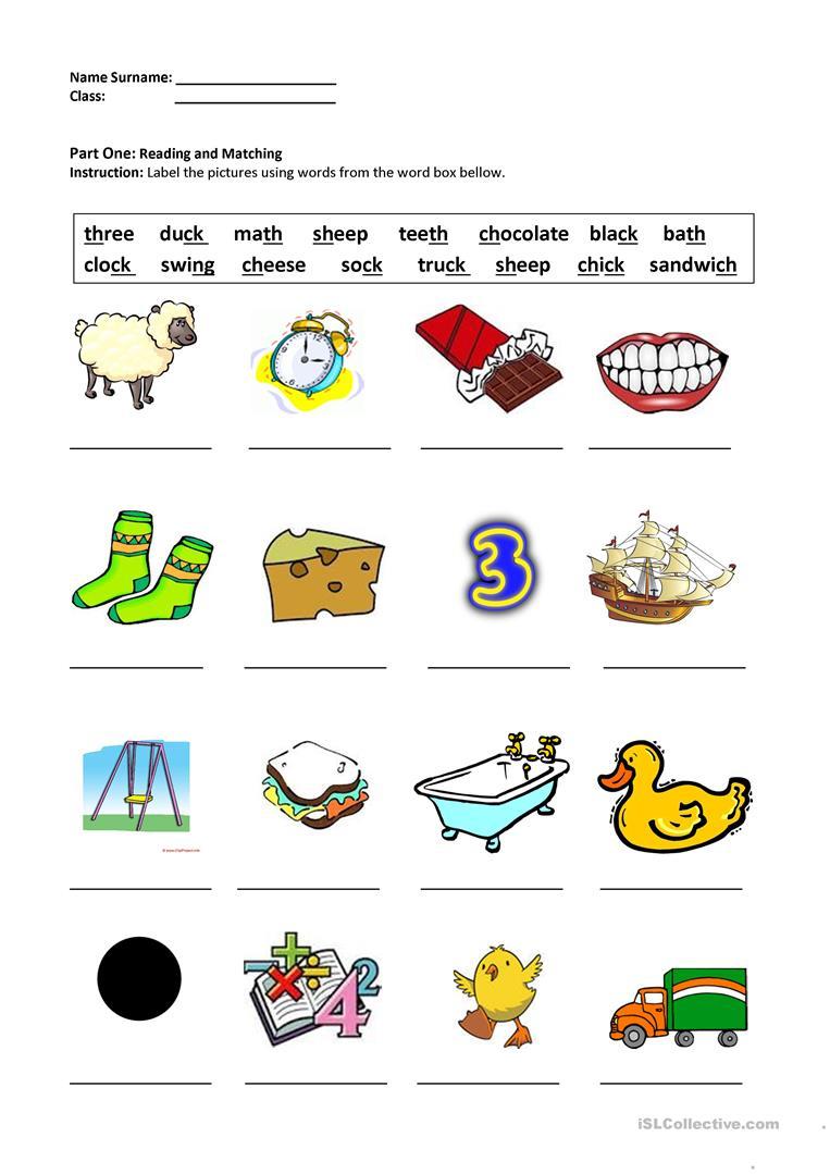 13 Free Esl Digraphs Worksheets - Free Printable Ch Digraph Worksheets