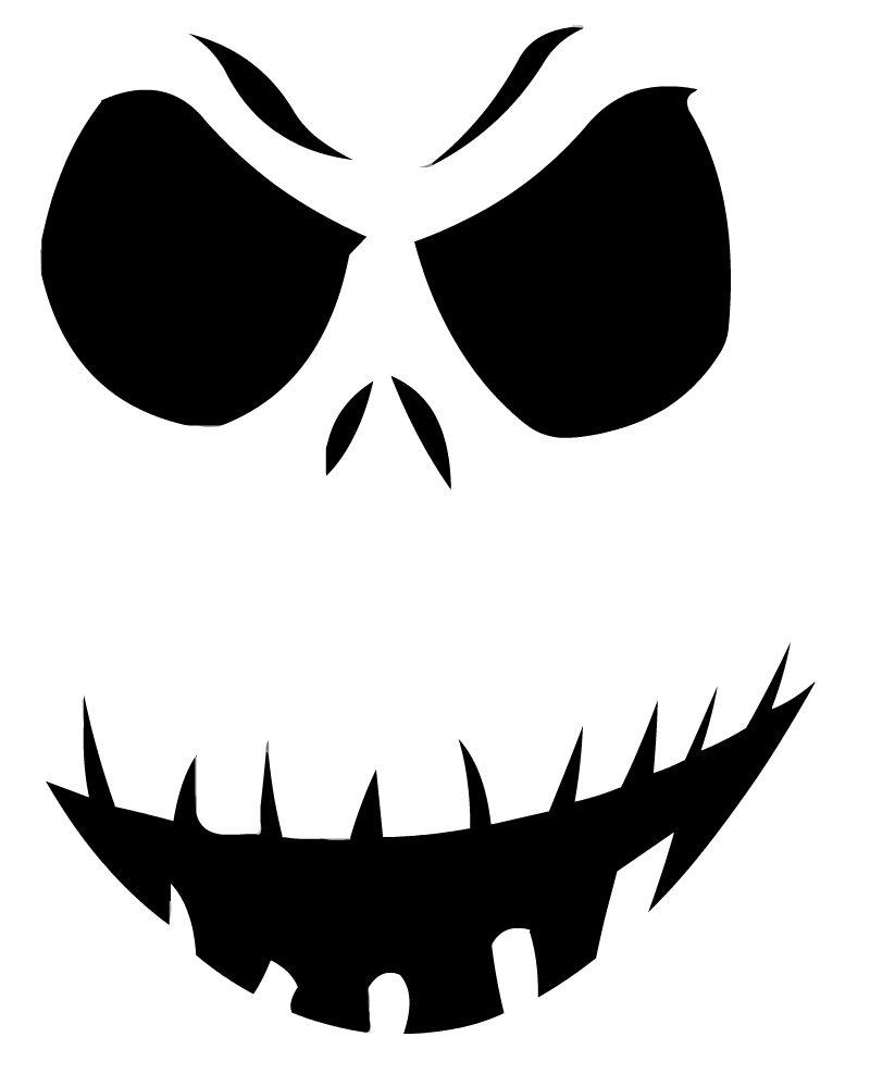 14 Unique Jack Skellington Pumpkin Stencil Patterns | Guide Patterns - Pumpkin Templates Free Printable