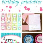 15 Free Birthday Printables   I Heart Nap Time   Free Printable Sweet 16 Labels