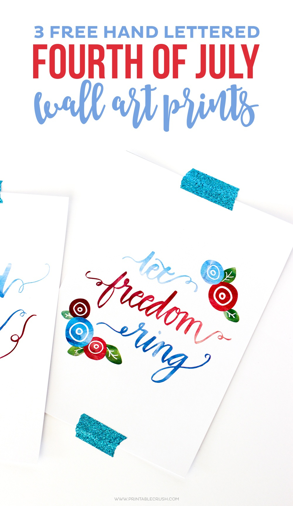 15 Free Printable 4Th Of July Decorations On Love The Day - Free Printable 4Th Of July Stationery