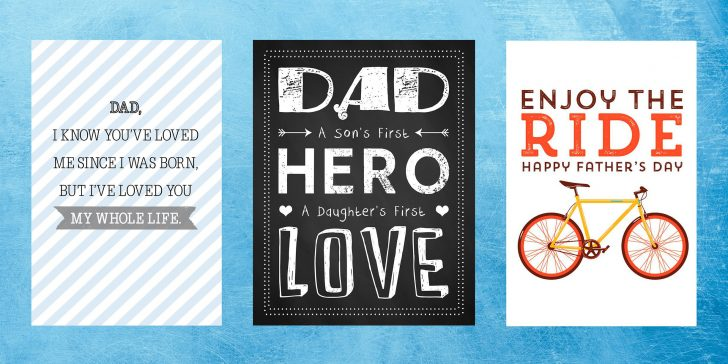 Free Printable Father's Day Card From Wife To Husband