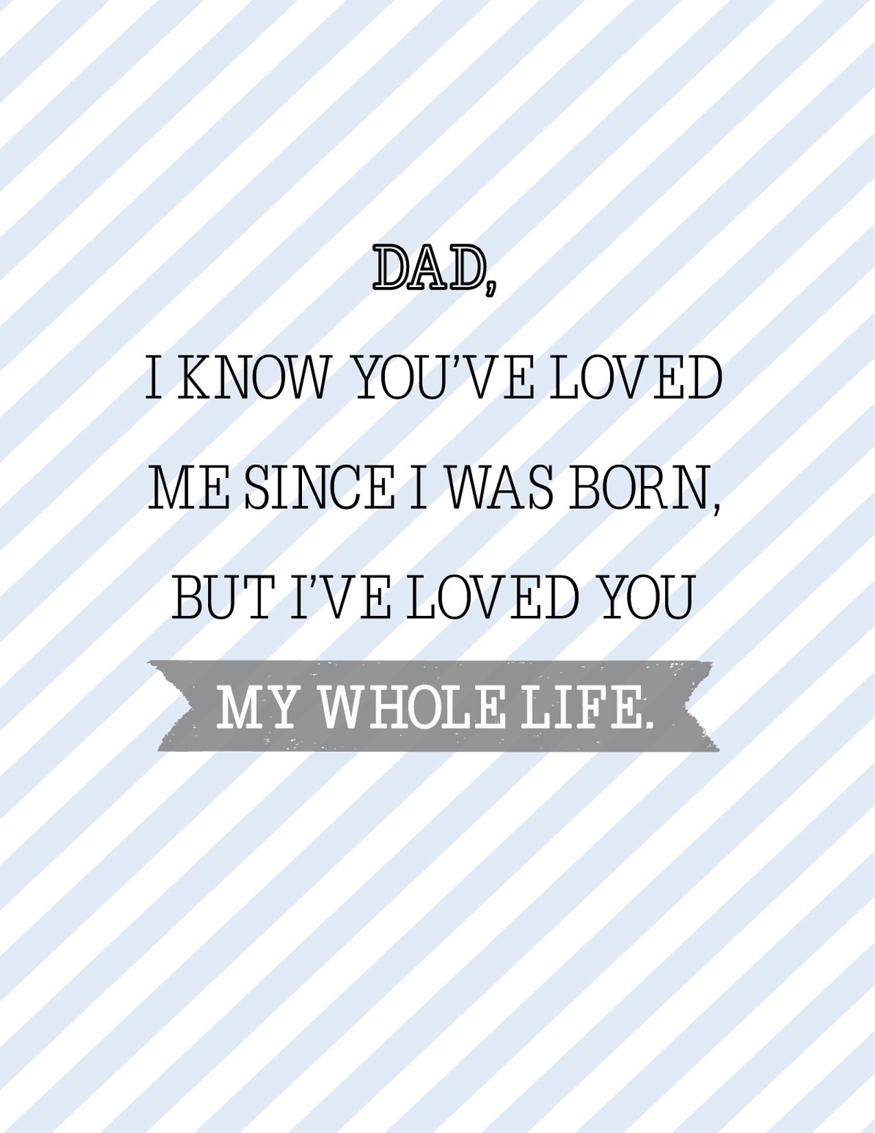 15 Free Printable Father's Day Cards - Cute Online Father's Day - Hallmark Free Printable Fathers Day Cards