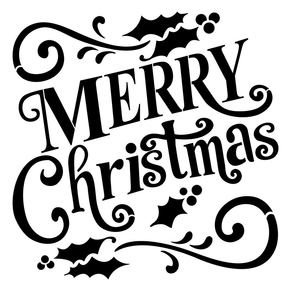 15+ Merry Christmas Sign Images For Wreath With Lights | Merry - Merry Christmas Stencil Free Printable