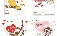 Free Printable Childrens Valentines Day Cards