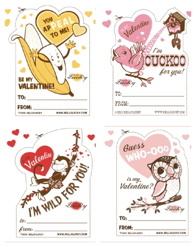 15 Of The Best Free Printable Valentine's Cards For The Classroom - Free Printable Valentines Day Cards For Mom And Dad