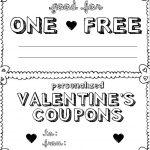 15 Sets Of Free Printable Love Coupons And Templates   Free Printable Homemade Coupon Book