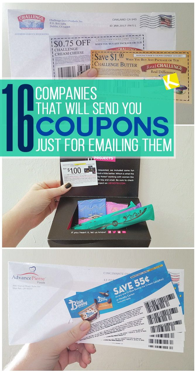16 Companies That Will Send You Free High-Value Coupons | Freebies - Free High Value Printable Coupons