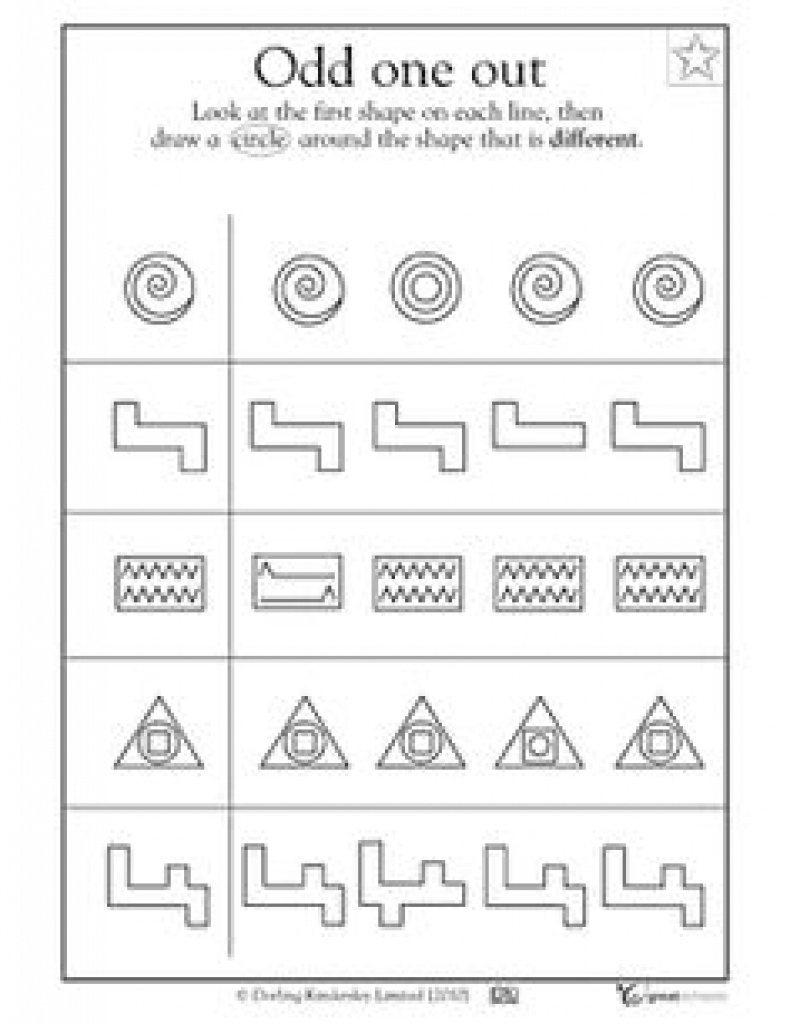 17 Best Images Of Visual Form Constancy Worksheets - Free Visual - Free Printable Form Constancy Worksheets