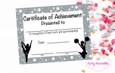 17 Images Of Megaphone Award Certificate Template | Unemeuf – Free Printable Cheerleading Certificates
