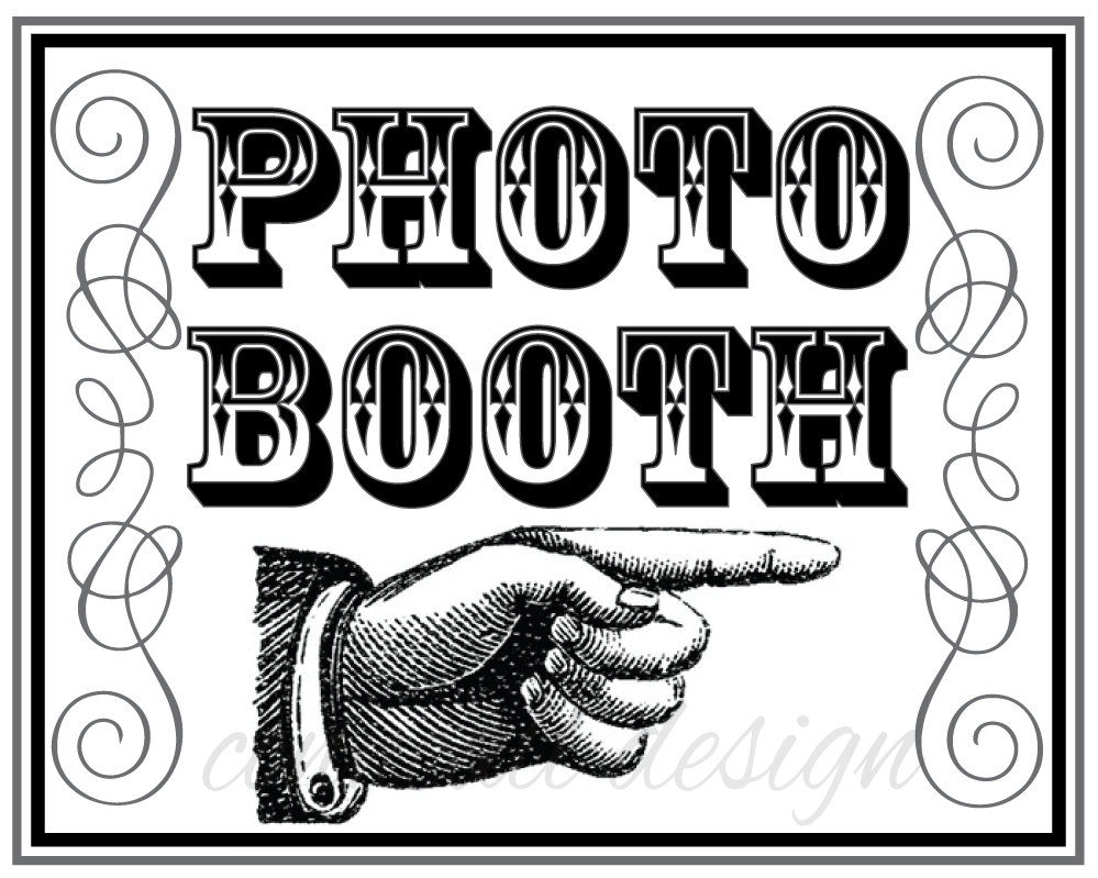 17 Photo Booth Sign Images - Free Printable Photo Booth Sign - Free Printable Photo Booth Sign