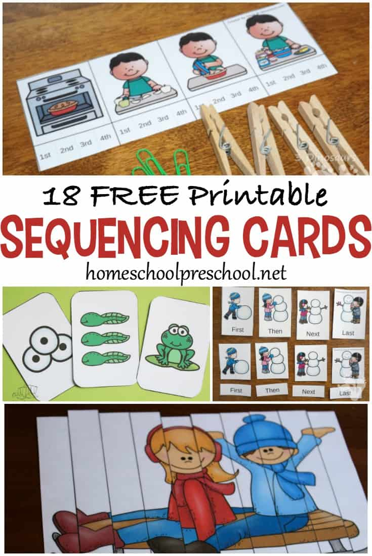 18 Free Printable Sequencing Cards For Preschoolers - Free Printable Sequencing Cards For Preschool