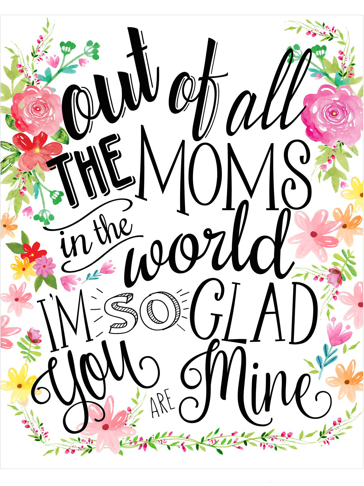 18 Mothers Day Cards - Free Printable Mother's Day Cards - Free Printable Mothers Day Gifts