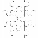 19 Printable Puzzle Piece Templates   Template Lab   Free Blank Printable Puzzle Pieces