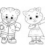 20 Daniel Tiger Halloween Coloring Page | Halloween Coloring Pages   Free Printable Daniel Tiger Coloring Pages
