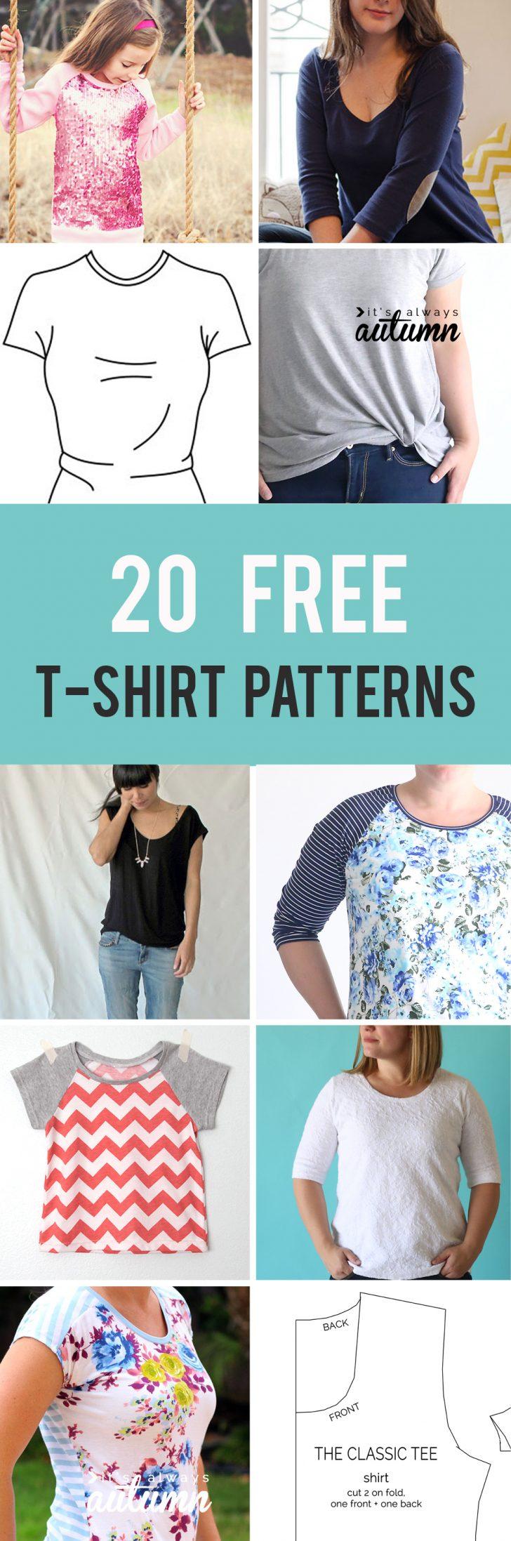 Free Printable Blouse Sewing Patterns