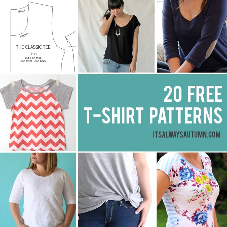 Free Printable Plus Size Sewing Patterns