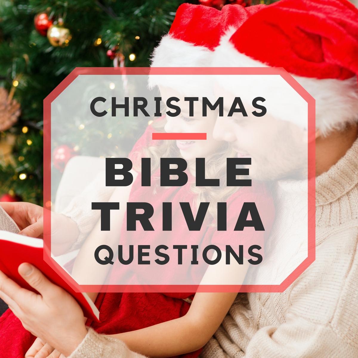 20 Fun Christmas Bible Trivia Questions - Free Printable Bible Trivia For Adults
