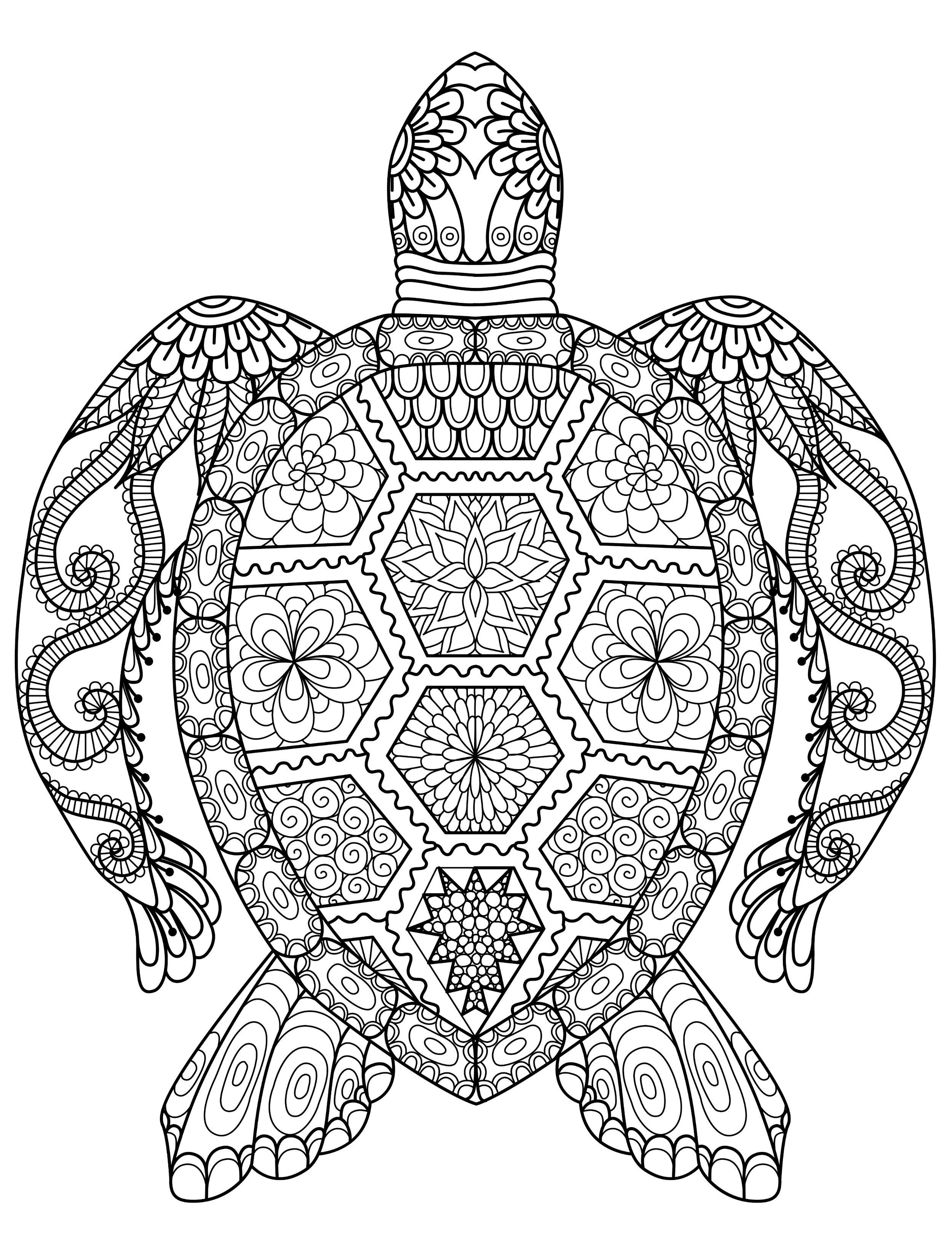 20 Gorgeous Free Printable Adult Coloring Pages … | Adult Coloring - Free Printable Nature Coloring Pages For Adults