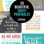 20 Gorgeous Printable Quotes | Free Inspirational Quote Prints   Free Printable Quote Stencils