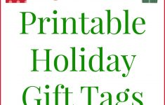 20 Printable Holiday Gift Tags (For Free!!) – The Country Chic Cottage – Free Printable Customizable Gift Tags