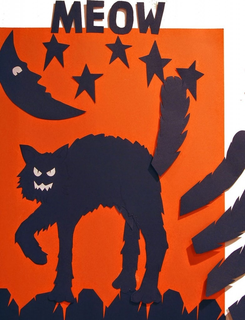 22+ Halloween Party Games For Kids. - Free Printable Pin The Tail On The Cat