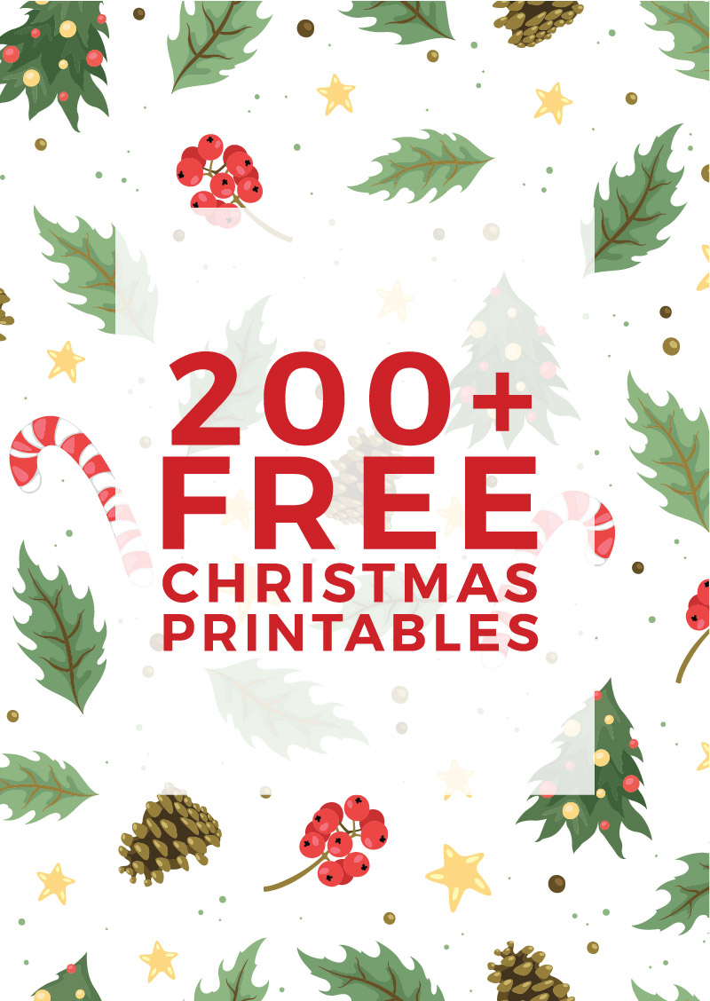225+ Free Christmas Printables You Need To Decorate & Delight Your - Free Printable Christmas Art