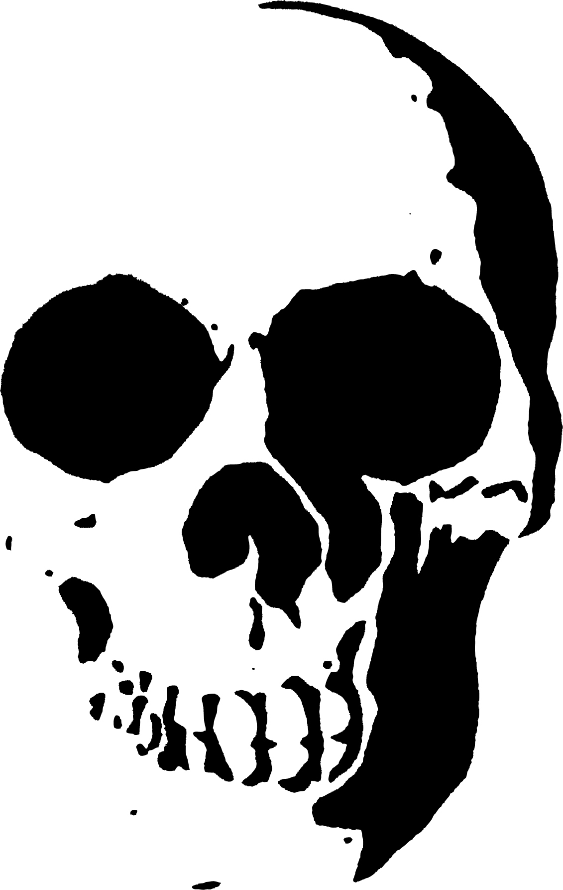 23 Free Skull Stencil Printable Templates   Guide Patterns - Free Printable Airbrush Stencils