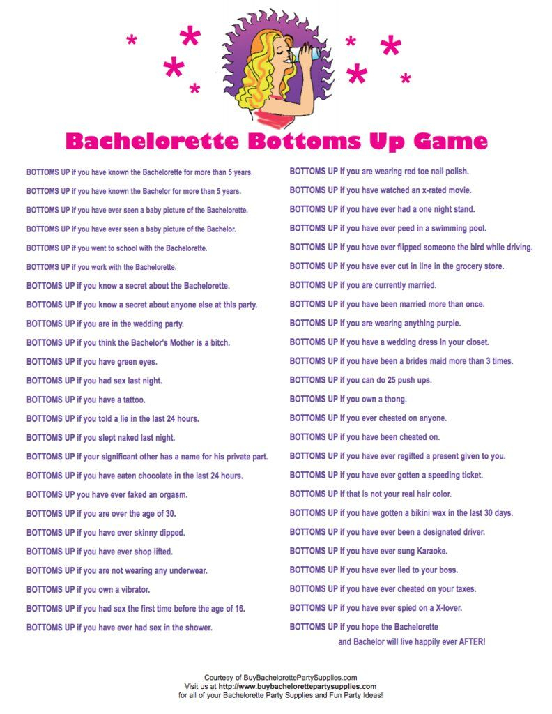 24 Free Bachelorette Party Printables Every Bride Will Love | Bridal - Free Printable Women's Party Games