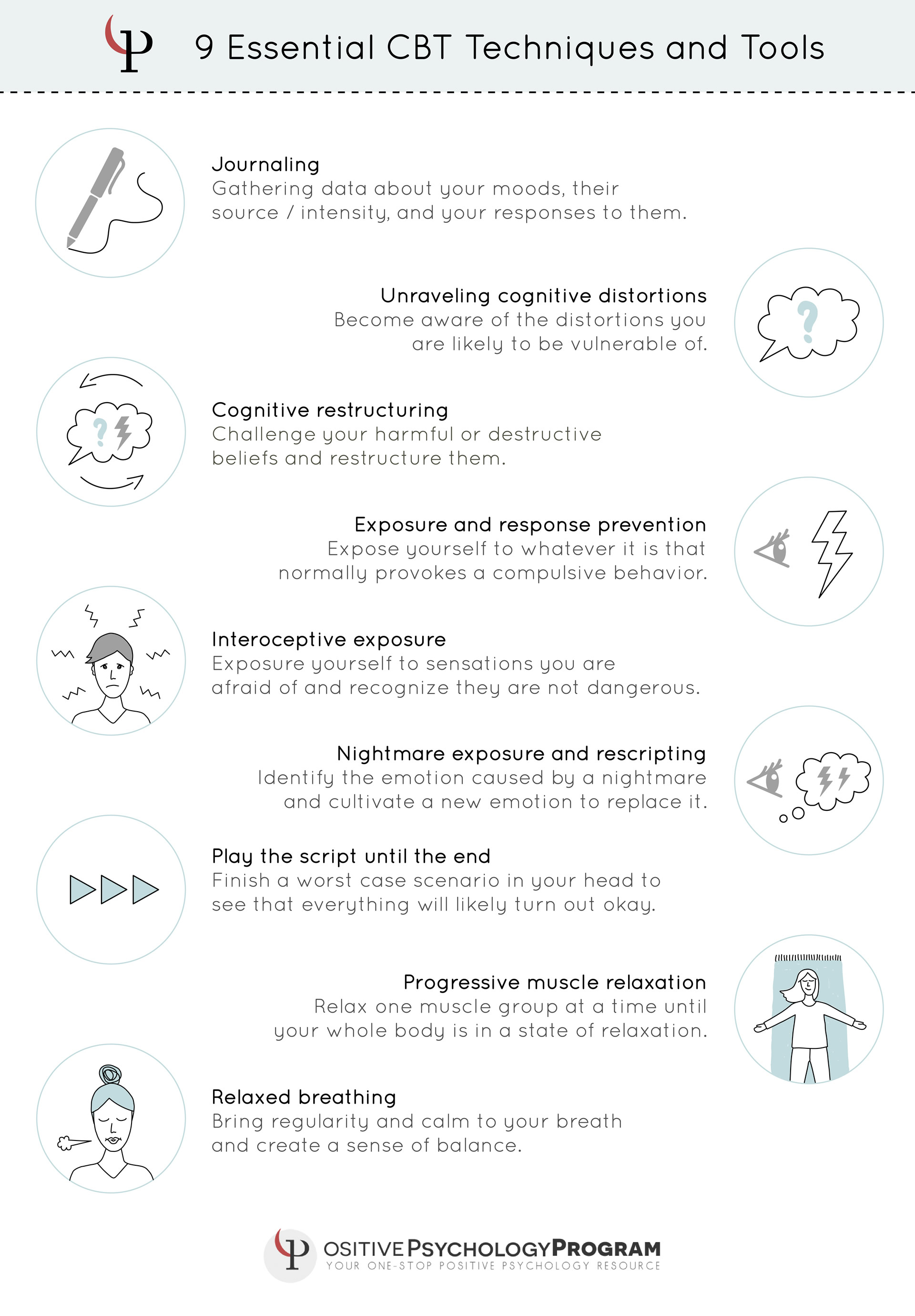 25 Cbt Techniques And Worksheets For Cognitive Behavioral Therapy - Free Printable Worksheets On Depression