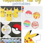 25+ Free Pokemon Party Printables   Cutesy Crafts   Free Printable Pokemon Birthday Invitations