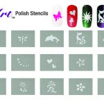 26 Images Of Chevron Nail Art Stencils Printable Template | Bfegy   Free Printable Nail Art Designs