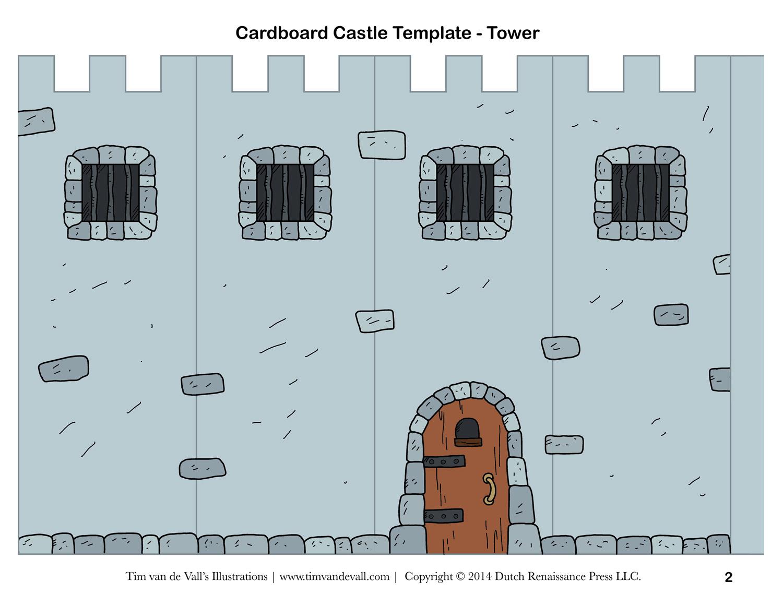 28 Images Of Cut Out 3D Shape Template Castle   Bfegy - Free Printable Castle Templates