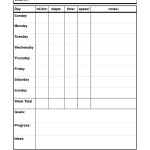 29 Images Of Dog Walking Schedule Template   Bfegy   Free Printable Walking Log