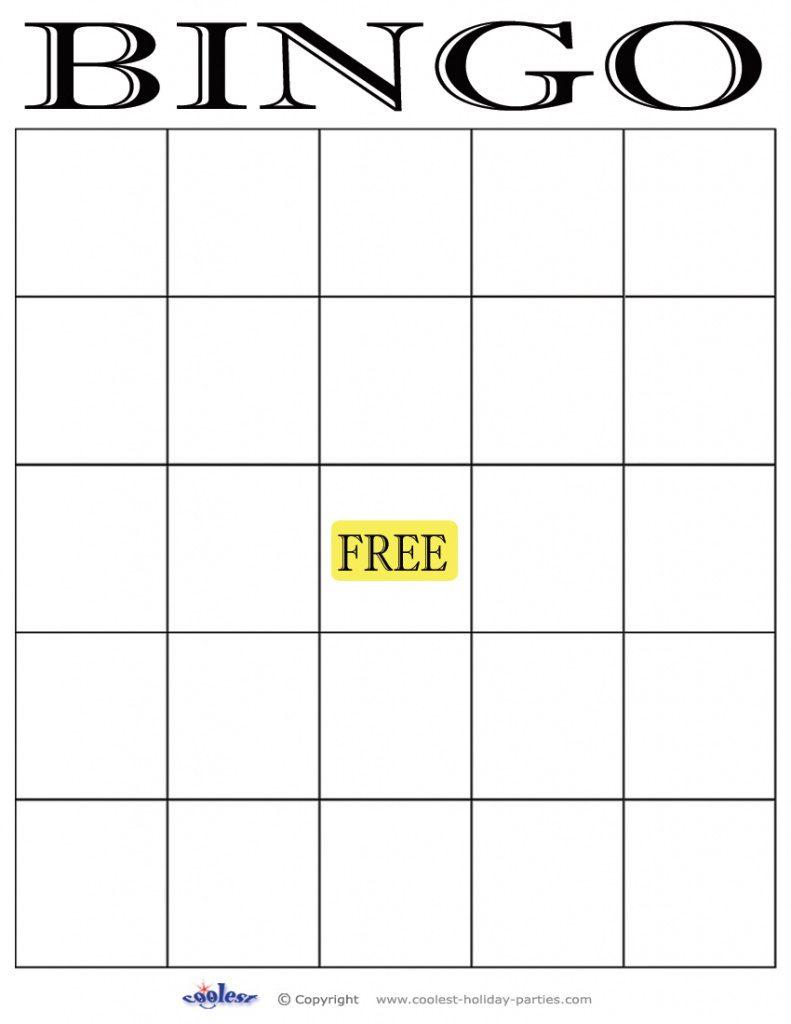 29 Images Of Empty Bingo Template | Leseriail Within Free Printable - Free Printable Blank Bingo Cards