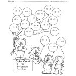 2Nd Grade   Subtraction 2 Digit Low Numbers | Kg Math Review   Free Printable Activity Sheets For 2Nd Grade