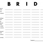 3 Free Printable Bridal Shower Games (That Are Actually Fun   Free Printable Wedding Party List