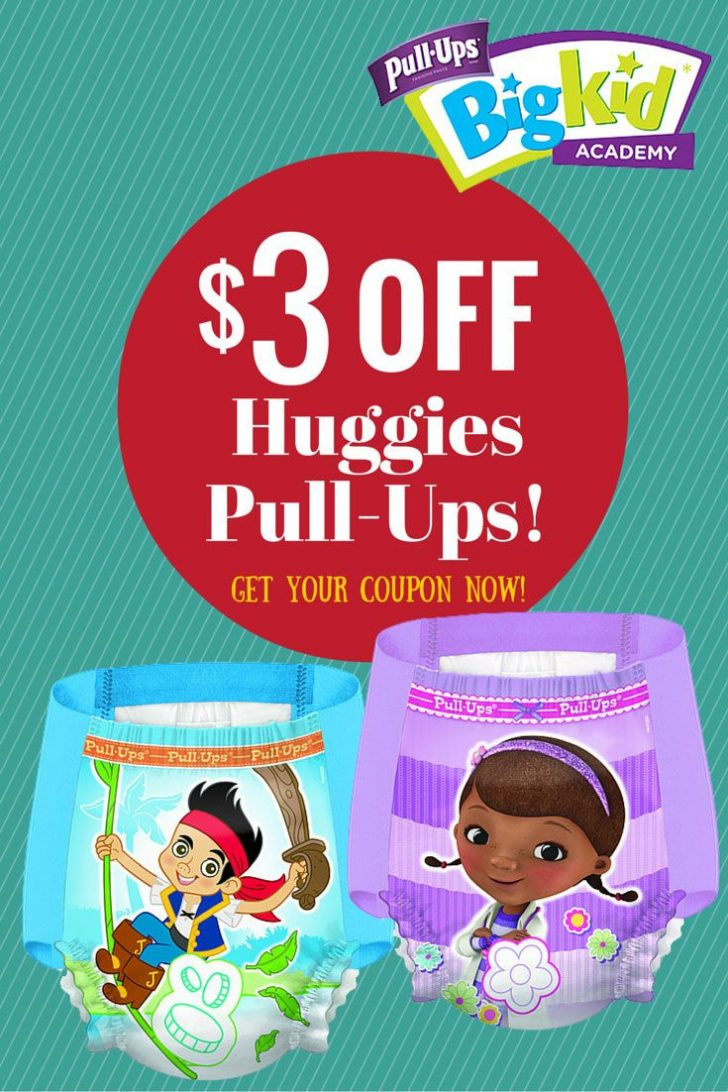 Free Printable Coupons For Huggies Pull Ups