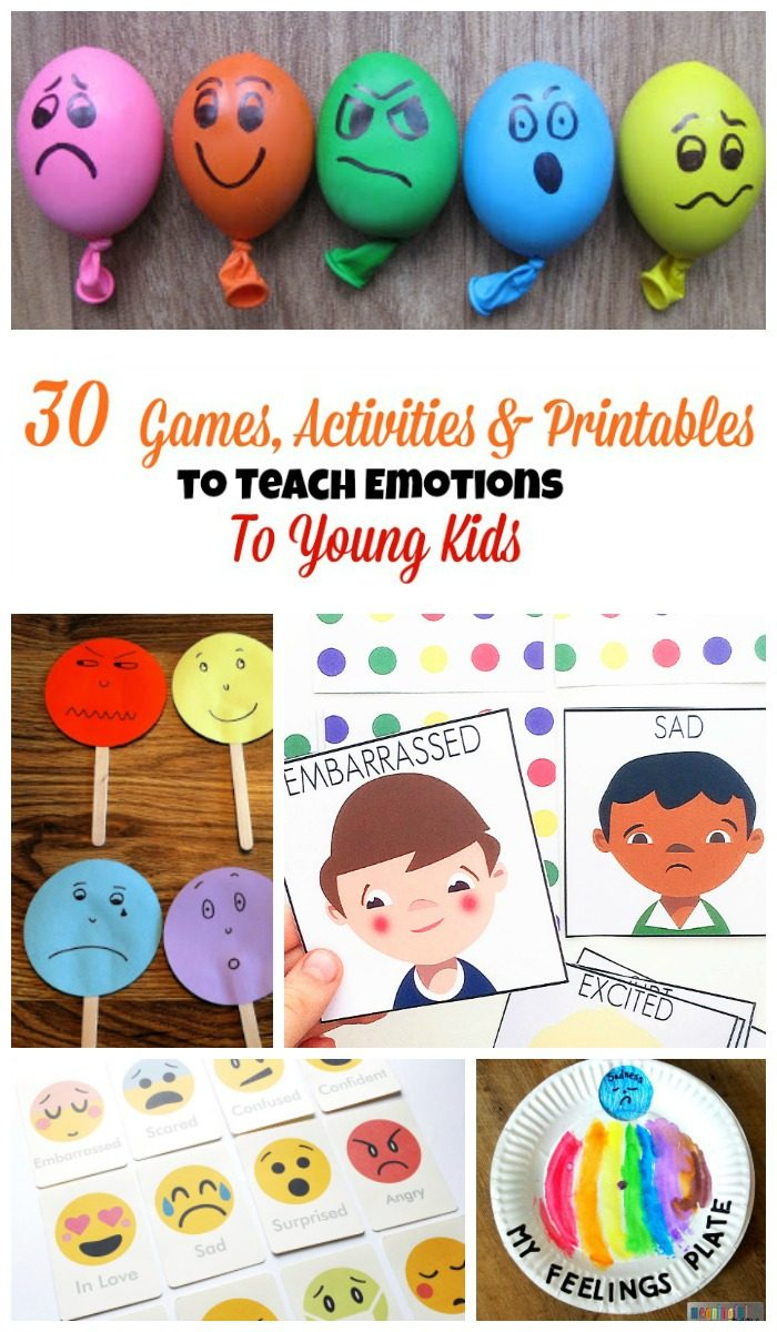 30 Activities And Printables That Teach Emotions For Kids - Free Printable Pictures Of Emotions