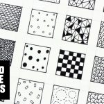 30 Patterns For Doodling / Filling Gaps   Youtube   Free Printable Doodle Patterns