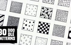 30 Patterns For Doodling / Filling Gaps – Youtube – Free Printable Doodle Patterns