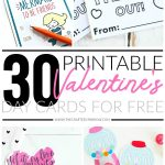30 Valentines Day Printable Cards   Free Printable Valentines Day Cards