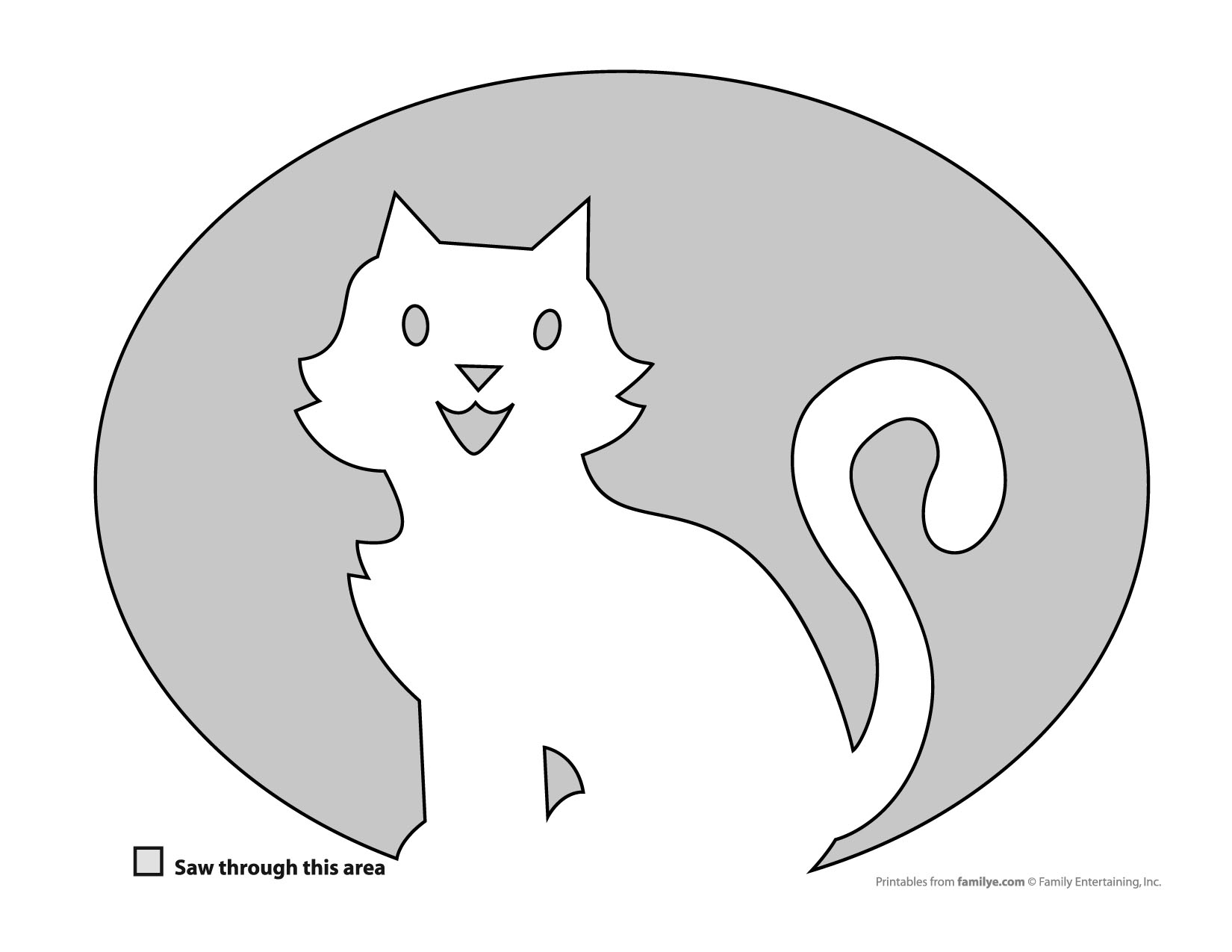 31 Free Pumpkin Carving Stencils Of Cats For A Purrfect Halloween - Free Printable Pin The Tail On The Cat