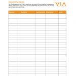 32 Free Bill Pay Checklists & Bill Calendars (Pdf, Word & Excel)   Free Printable Monthly Bill Checklist