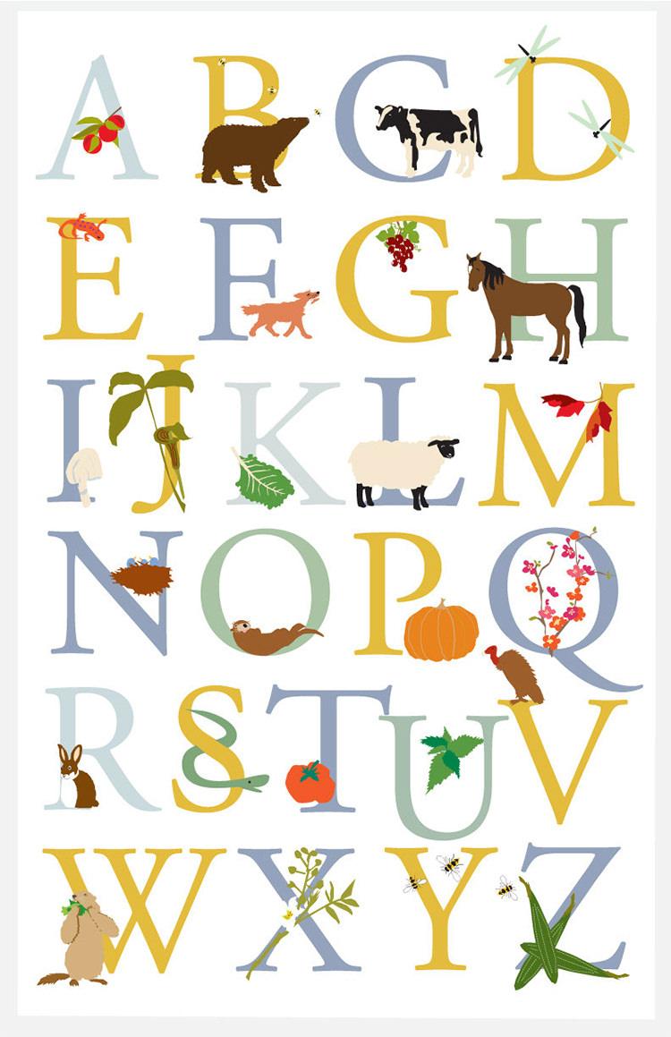 35+ Best Printable Alphabet Posters & Designs | Free & Premium Templates - Free Printable Preschool Posters