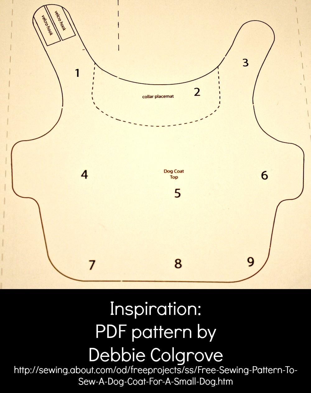 35 Diy Dog Coats | Puppies | Pinterest | Dog Coat Pattern, Large Dog - Free Printable Dog Coat Sewing Patterns