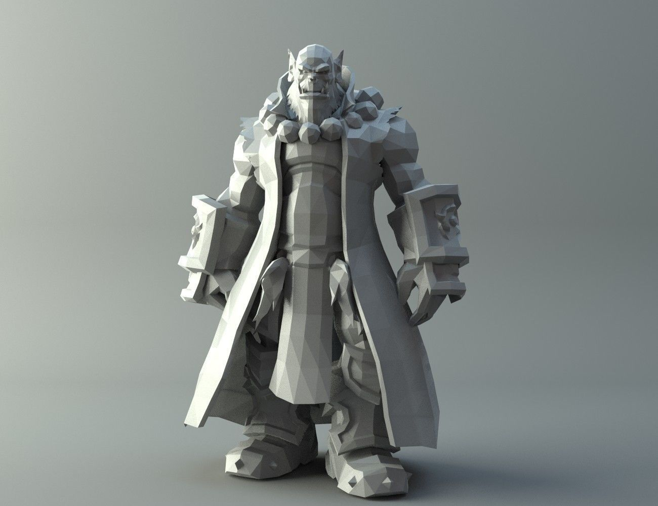 3D Print Model Thrall - Word Of Warcraft | Cgtrader - Free 3D Printable Models