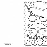 4 Free Printable Father's Day Cards To Color   Thanksgiving   Free Printable Cards To Color