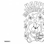 4 Free Printable Mother's Day Ecards To Color   Thanksgiving   Free Printable Cards To Color